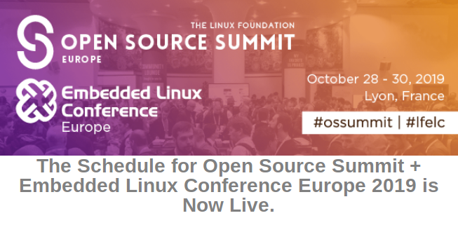 Open Source Summit and Embedded Linux COnference Europe